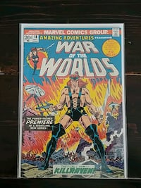 Amazing Adventures comic books #18 Bradford West Gwillimbury, L3Z 3A7