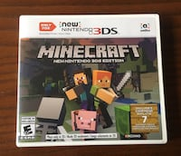 New Nintendo 3DS Minecraft Toronto, M1E