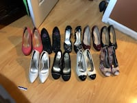 Women's assorted pairs of pumps Richmond, 94804