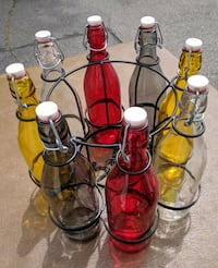 Colored Glass Bottle Chandelier Alexandria, 22314