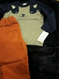 New with tags Carters boys sweater and pant set $15 price firm   Rockville