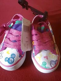 Minnie mouse shoes for girls new size 11-12and 7-8 San Martin, 95046