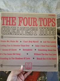 The Four Tops greatist hits box