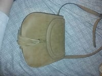 brown leather sling bag Swannanoa, 28778