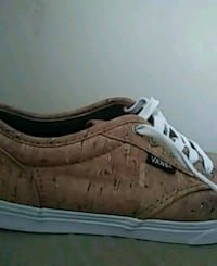 unpaired brown and white low-top sneaker Baltimore, 21224