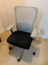 Haworth Zody Task Office Chair, fully adjustable arms, lumbar, seat, and height Alexandria