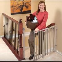 NEW!! Evenflo Secure Step Top of Stairs Gate St Thomas, N5R 6M6