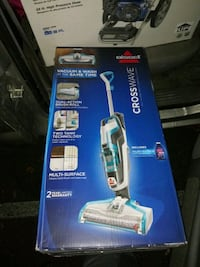 Cross wave vacuum and wash at the same time 2328 mi
