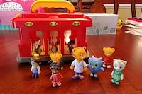Daniel Tiger Motorized Trolly with 7 characters Brambleton, 20148