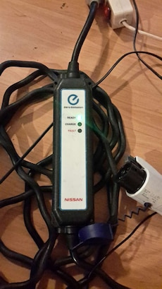 NISSAN Leaf lader.