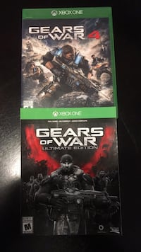 Xbox one gears of war 4 + ultimate edition code Kitchener, N2M 3T4