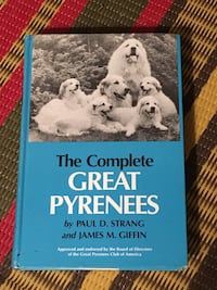 The Complete Great Pyrenees hardcover book  Toronto, M2M 2A3
