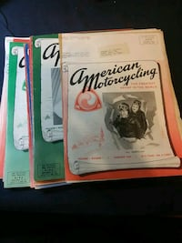 American motorcycling magazine 1947 Manchester, 03102