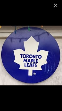 Toronto maple leaf sign