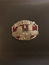 Mechanic - belt buckle - classic
