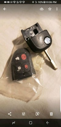 black and red car fob Frederick, 21701