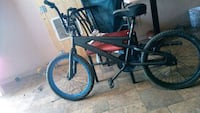 black and red BMX bike Edmonton, T5A