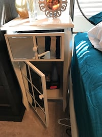 Nightstand with drawers and mirrors  Walnut Creek, 94598