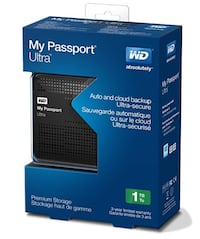 NEW! WD My Passport Ultra 1TB Portable External Hard Drive USB 3.0 Calgary, T3G 1J6