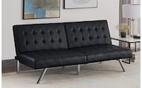 Brown Leather sleeper sofa Fairfax, 22030