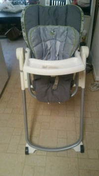 baby's gray and white high chair Charles Town, 25414