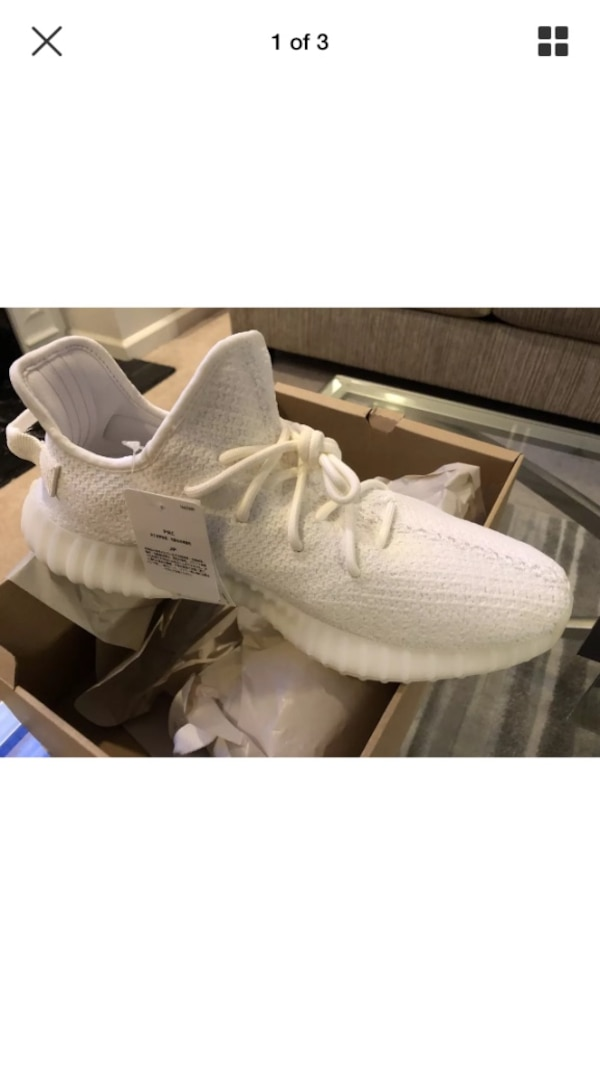 5999a0287e8f4 Used Size 12 Available Yeezy Boost 350 Triple White for sale in  Lawrenceville