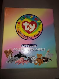 Beanie babies Series 1 Collector cards Toronto, M4L 2X4