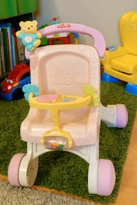Fisher Price walker buggy  Coquitlam, V3K 1P3