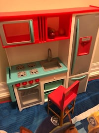 white, red, and blue kitchen playset Hamilton, L9B 1W0