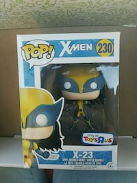 Pop! X-Men 230 X-23 vinyl figure box Richmond