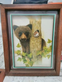 Bear and Squirrel Picture Frame San Antonio
