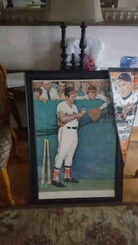 Sign brooks Robinson poster with  frame 30x40   Staten Island
