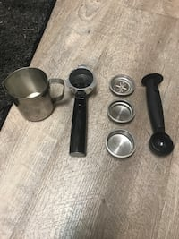 Cuisinart cappuccino machine paid $450 used it once.