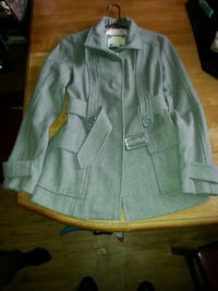 gray single breasted trench coat Lakewood, 80232