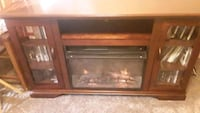 Entertainment center with remote fireplace Cuddebackville, 12729