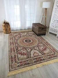 new luxury soft silk area rug size 5x8 Persian rug style rugs carpets Burke, 22015