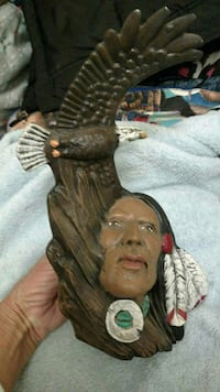 native america and brown eagle figurine Edinboro, 16412
