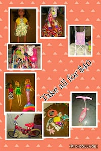 assorted color of doll collection Salinas, 93905