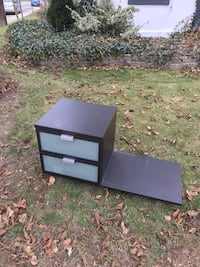 black and brown wooden TV stand 508 km