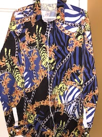 Men's Versace inspired!! Long sleeve button up shirt - size is a Double XL - brand new! Toronto, M4Y