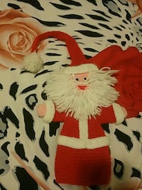 Santa Claus knit doll
