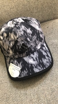 black and white camouflage fitted cap New Westminster, V3M 2N3