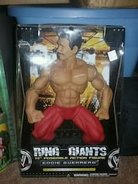 Ring giants eddie guerrero action figure with pack