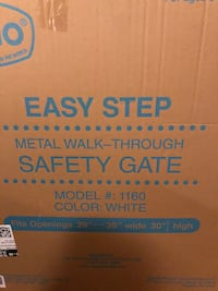 Brand new still in the original box, never used or opened - baby/pet gate. Alexandria, 22304