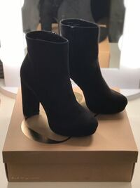 Women's size 9 Black heeled boots Altamonte Springs, 32714