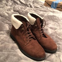 pair of brown leather boots Biloxi, 39530