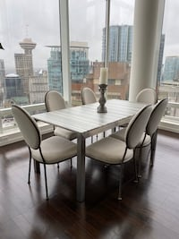 New! 6 Oval Upholstered Dining Chairs!