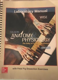 Human Anatomy and Physiology Lab Manual Brand New  814 mi
