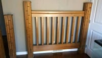 Queen modern country wood bedframe Calgary, T3H 1A9