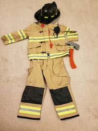 Firefighter costume - size small
